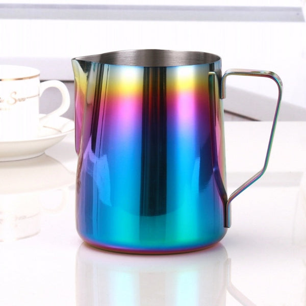 Milk Frothing Pitcher - Starbrew Titanium Coffee Art Pitcher