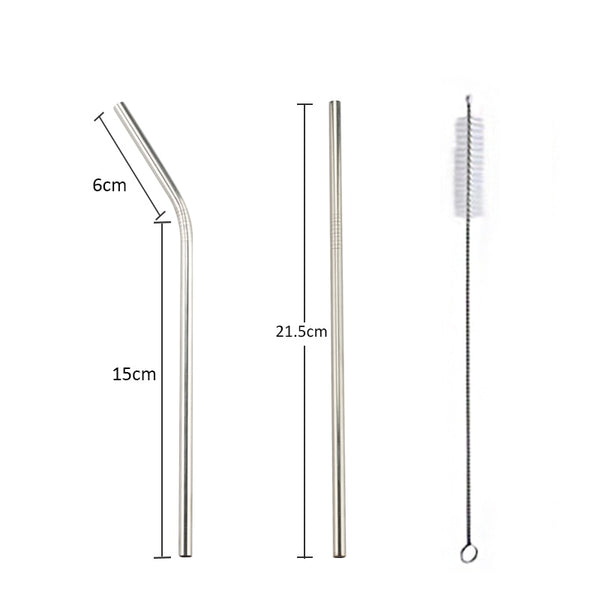 Coffee Stainless Steel Drinking Straw