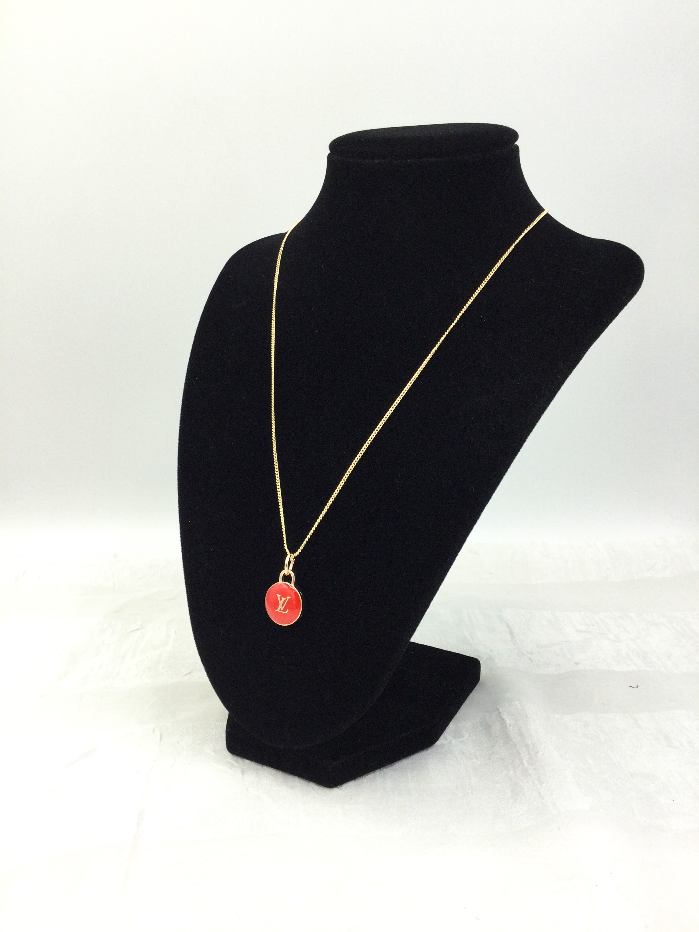 Red Pastilles Charm Necklace