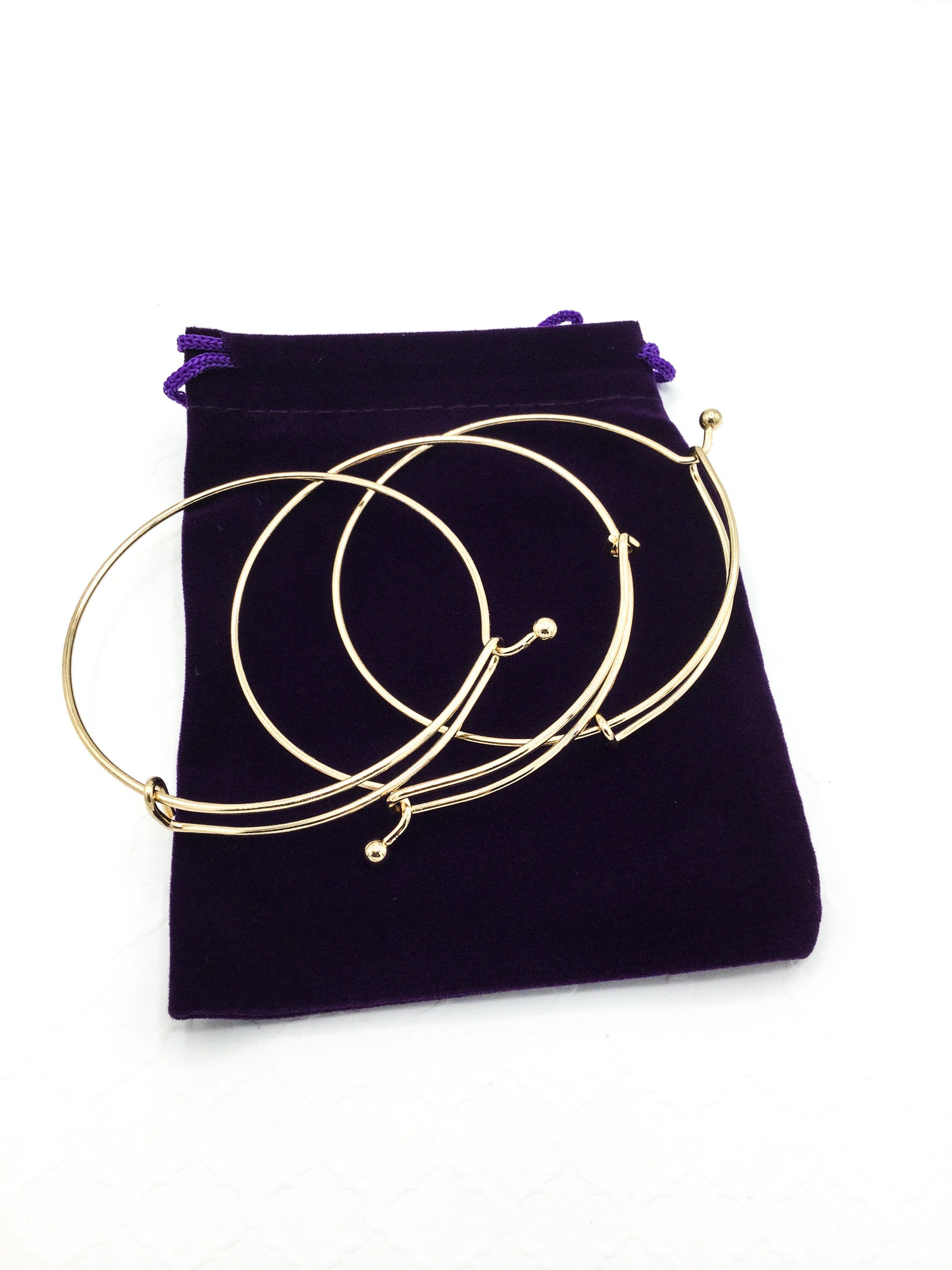 Gold Charm Necklace/Bangle