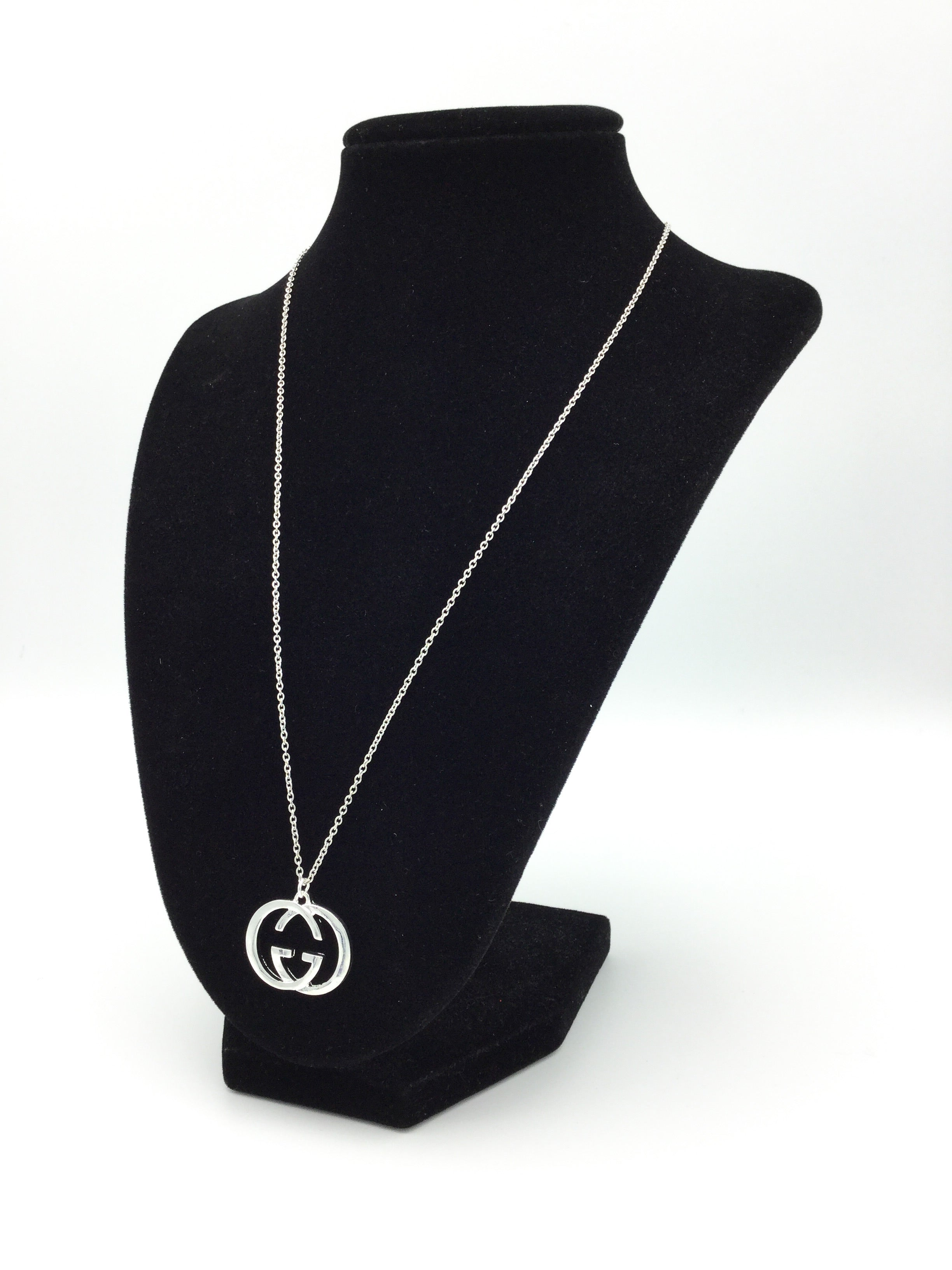Silver Charm Necklace by Designer Therapy