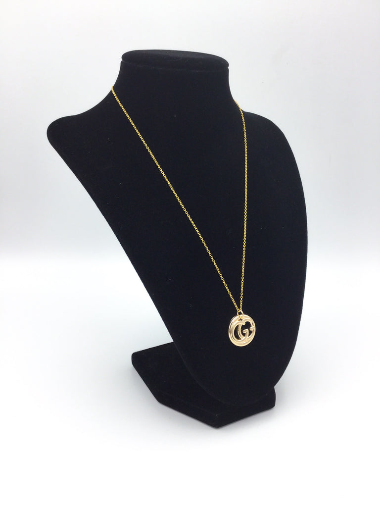 Cut-Out Button Necklace by Designer Therapy