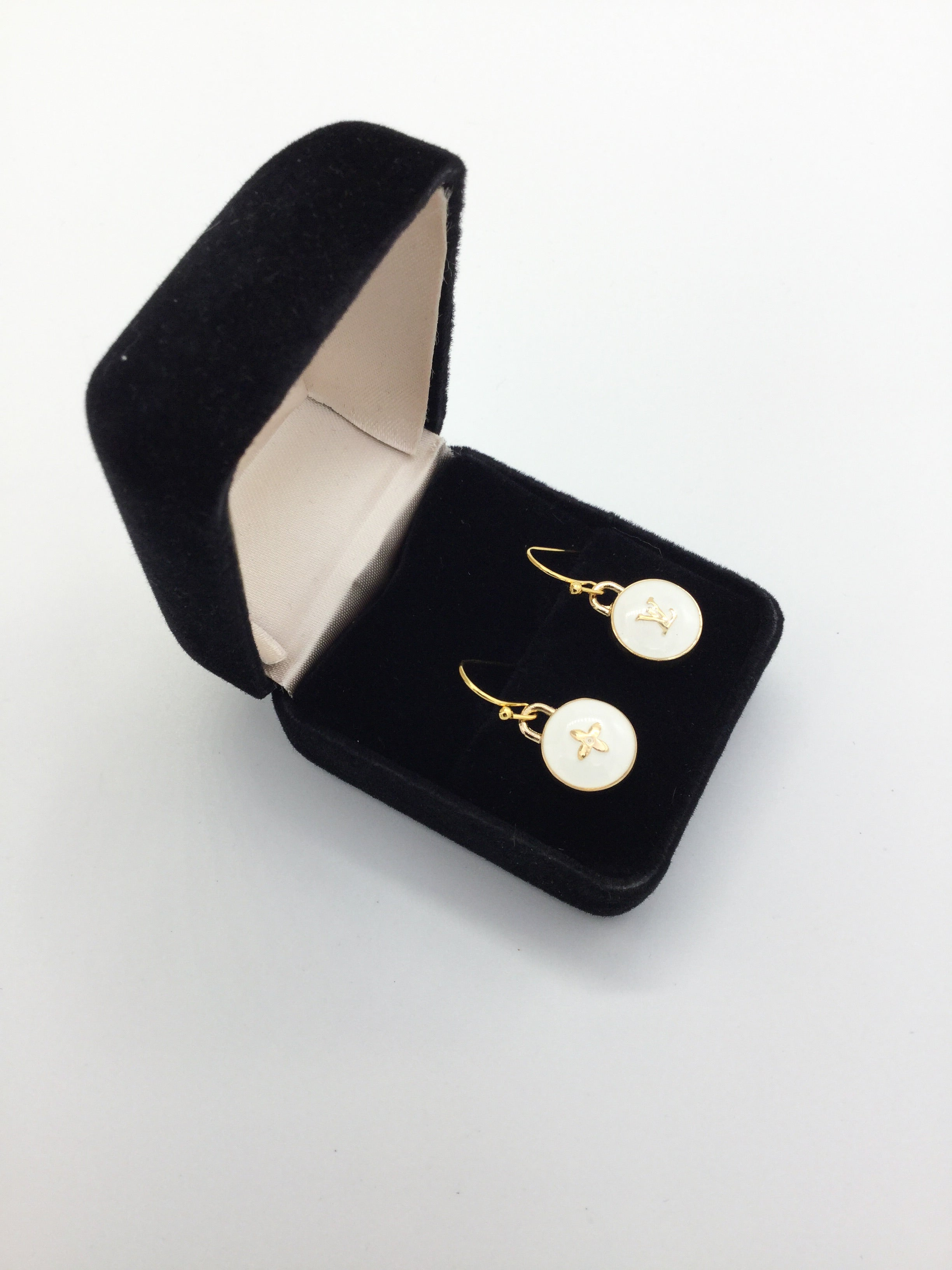 Pastilles Charm Earrings - White