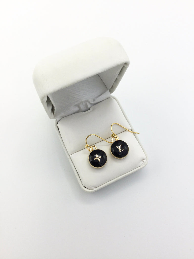 Pastillies Charm Earrings - Black