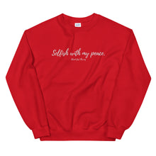 "Load image into Gallery viewer, ""Selfish with my peace"" Sweatshirt"