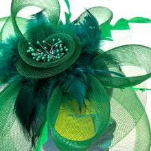 Headpiece Green Flower