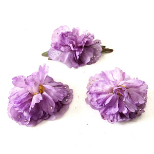 Peonie Flowers - Set 3 pz Purple