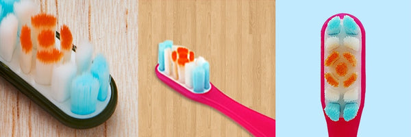 Caress Whitening Toothbrush Bristle