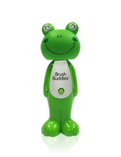 Load image into Gallery viewer, Brush Buddies Poppin' Leapin Louie (Frog) Toothbrush
