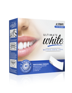 Ultimate White Whitening Dental Strips 3 Day Treatment