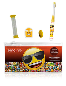 Brush Buddies Emoji Travel Kit