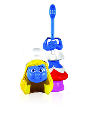 Load image into Gallery viewer, Brush Buddies Poppin' Smurfette Toothbrush