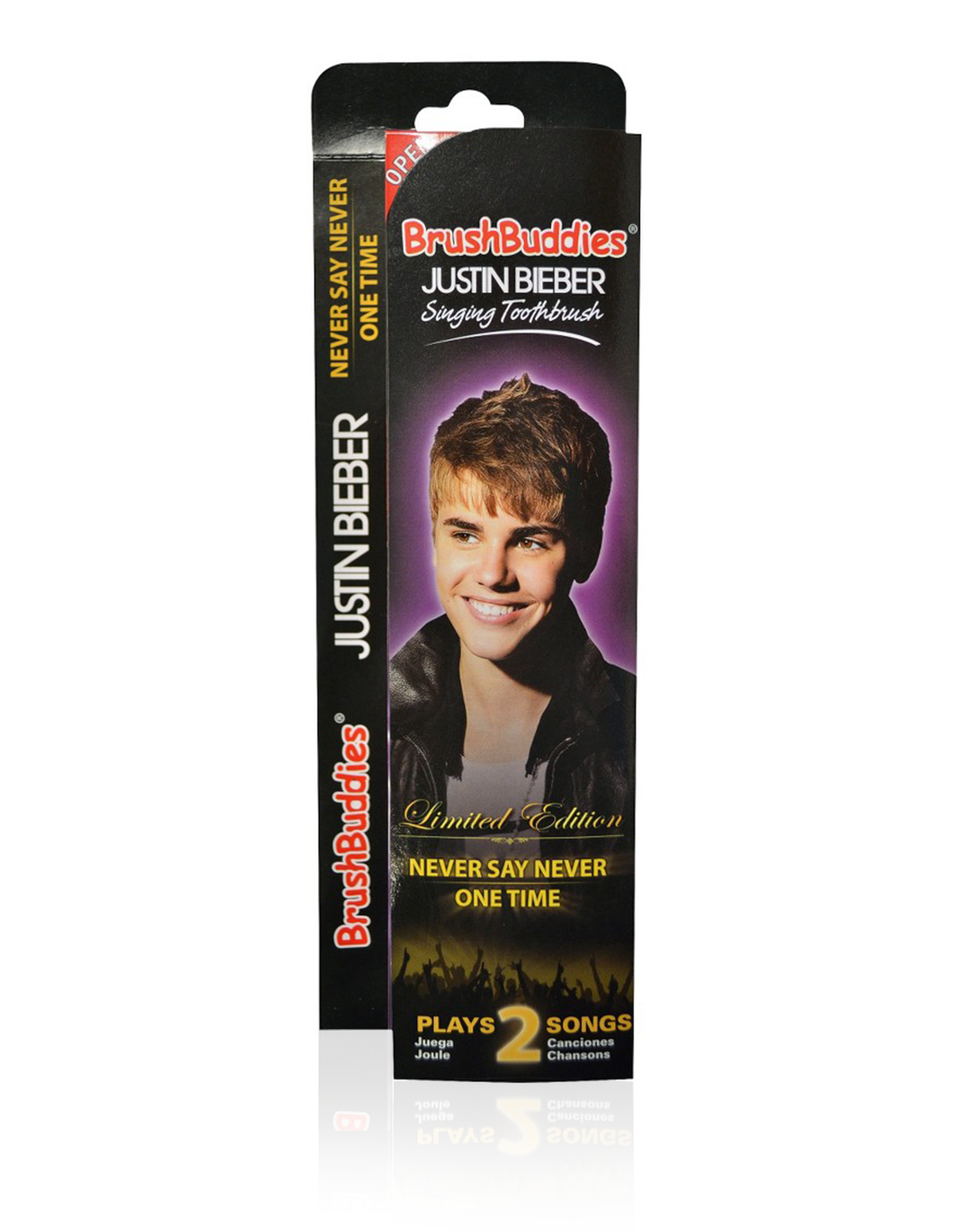 Brush Buddies Justin Bieber Singing Toothbrush (Never Say Never & One Time)