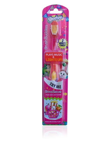 Brush Buddies Shopkins Brite Beatz