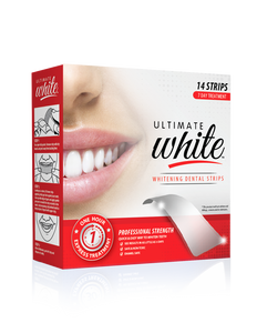 Ultimate White Whitening Dental Strips (7 Day Treatment)