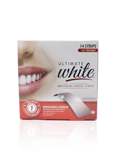 Load image into Gallery viewer, Ultimate White Whitening Dental Strips (7 Day Treatment)