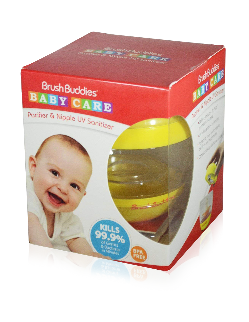 Brush Buddies UV Pacifier & Nipple Sanitizer