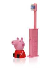 Load image into Gallery viewer, Brush Buddies Pez Poppin' Peppa Pig  Toothbrush