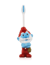 Load image into Gallery viewer, Brush Buddies Talkin' Papa Smurf Toothbrush