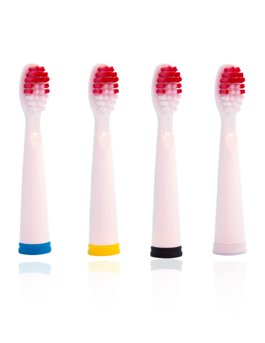 Soniclean Replacable Brush Heads (4 pack) - (Pro 2000, 3000, 5000,CVS Pro Whitening, Pro White, Sonic Clean)
