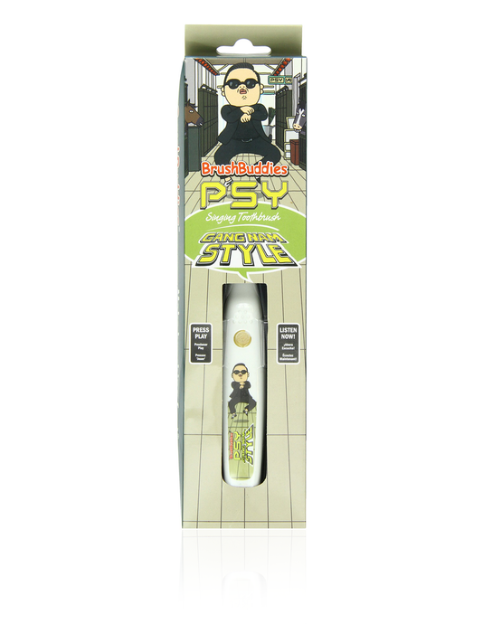 PSY Singing Toothbrush (Gangnam Style)
