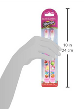 Load image into Gallery viewer, Brush Buddies Shopkins Toothbrush 2 Pack