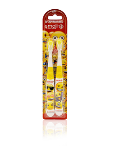 Brush Buddies Emoji Toothbrush 2 Pack