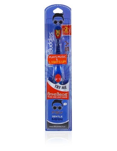Brush Buddies Brite Beatz Psy - Gentleman Toothbrush