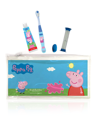 Brush Buddies Peppa Pig Travel Kit