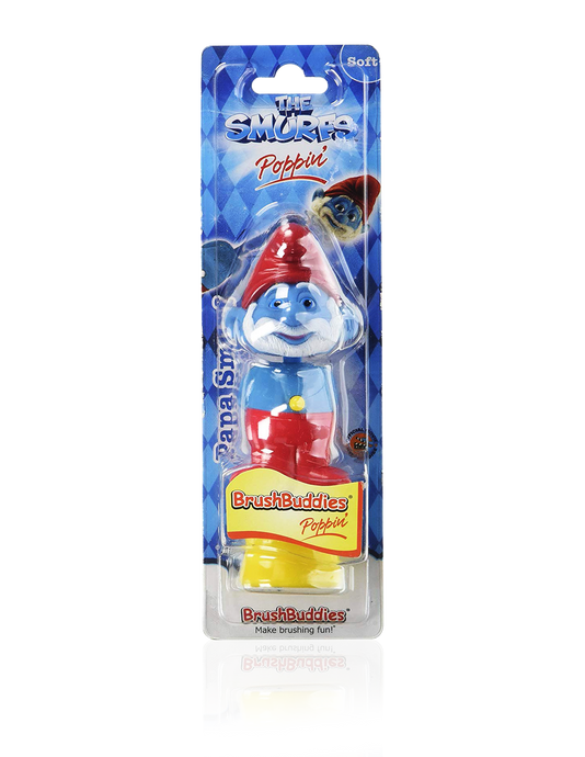 Brush Buddies Poppin' Papa Smurf Toothbrush