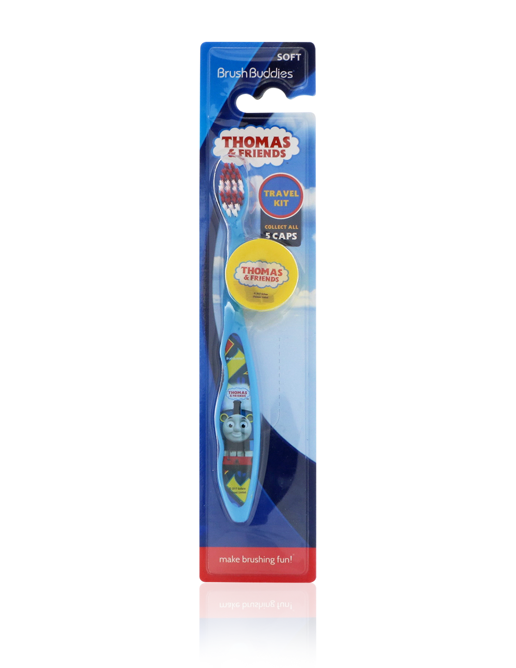 Brush Buddies Thomas & Friends Toothbrush with Mystery Cap