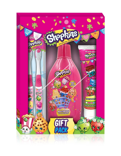 Brush Buddies Shopkins Gift Box