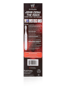 Brush Buddies WWE Theme Song Toothbrush Featuring The Rock & John Cena