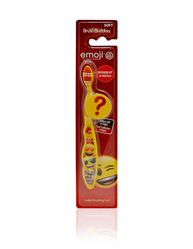 Brush Buddies Emoji Toothbrush with Mystery Cap