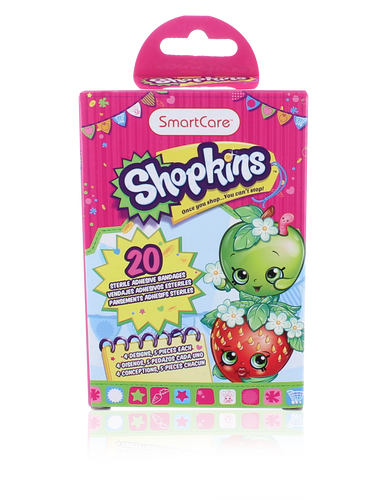 Smart Care Shopkins Bandage (20 Count)