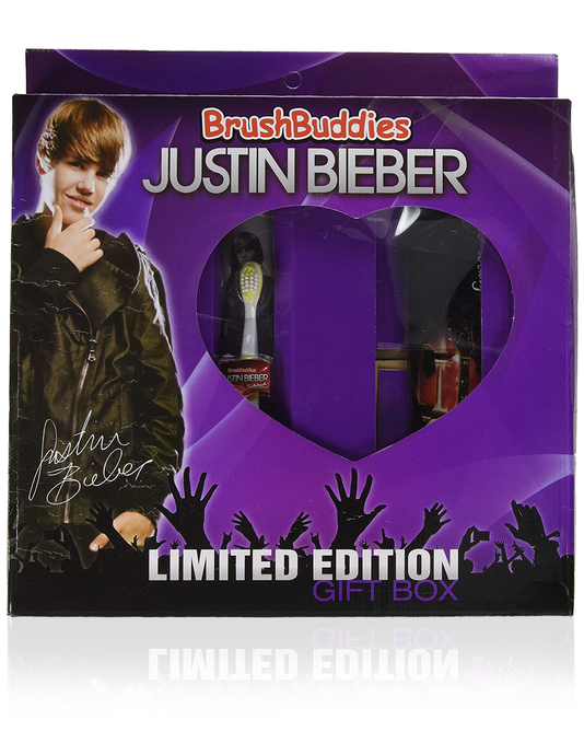 Brush Buddies Justin Bieber Ultimate Gift Box