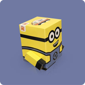 Minions Cube Tissue Box - Smart Care