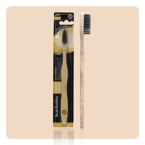 Brush Buddies Bamboo Charcoal toothbrush