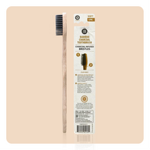 Load image into Gallery viewer, Brush Buddies Bamboo Charcoal toothbrush