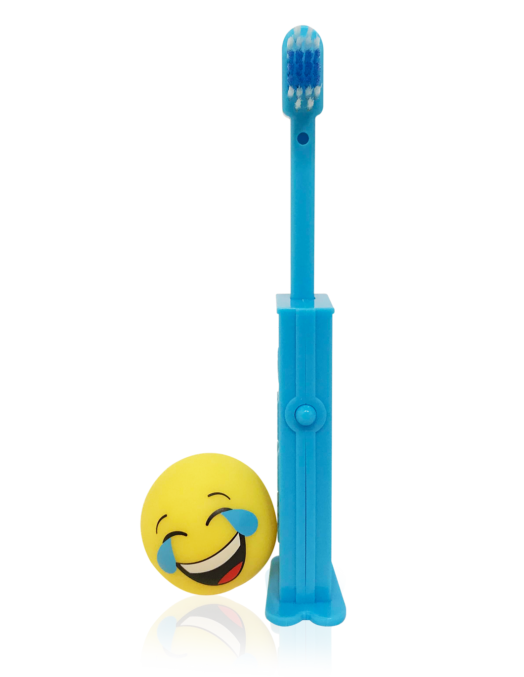 Brush Buddies Pez Poppin' Emoji LOL Toothbrush