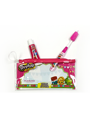 Brush Buddies Shopkins Value Travel Kit
