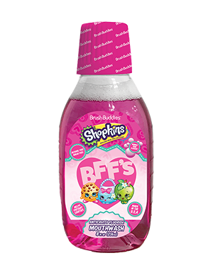 Brush Buddies Shopkins Bubble Gum Mouthwash (8 Oz)