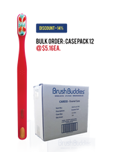 Load image into Gallery viewer, Brush Buddies Caress Enamel Care Toothbrush Case Pack - (12/24/48)