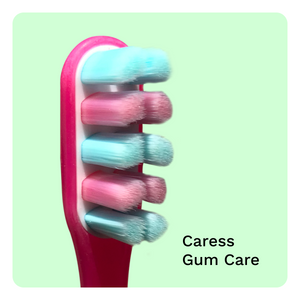 Brush Buddies Caress Toothbrushes Mix Combo - Case Pack 18
