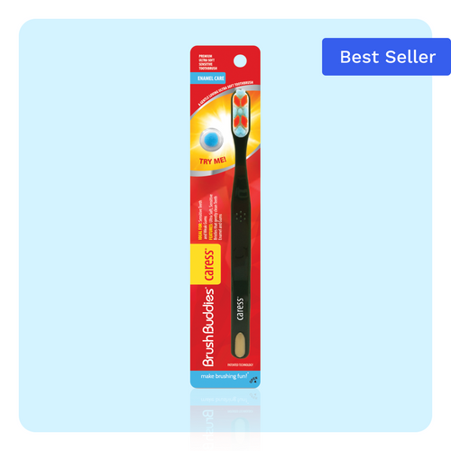 Brush Buddies Caress Enamel Care Toothbrush