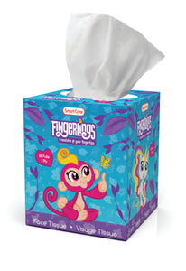 Smart Care Fingerlings Tissue Box - 85 Count 2 Ply