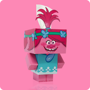Trolls Cube Tissue Box - Smart Care
