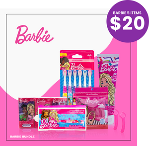 Brush Buddies Barbie GIFT BUNDLE | 5 Barbie Items in a Bundle