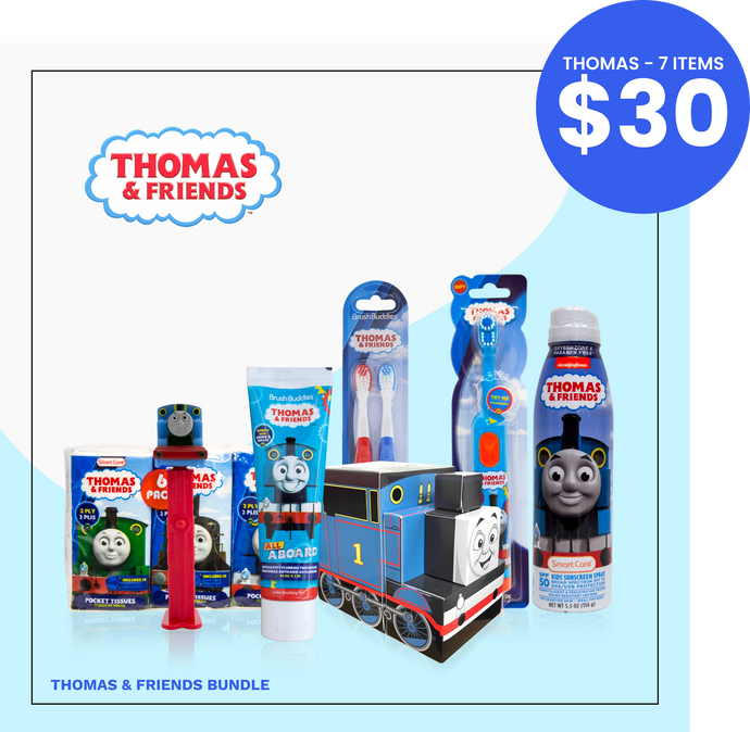 Brush Buddies Thomas & Friends GIFT BUNDLE | 7 Thomas & Friends Items in a Bundle
