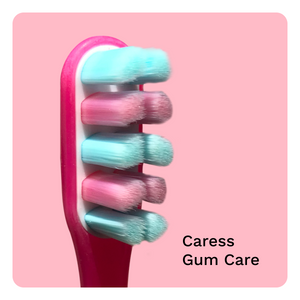 Brush Buddies Caress Toothbrushes Combo | Gum Care | Enamel Care | Whitening